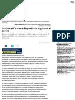 McDonald's suma dispositivos digitales al menú • Forbes México
