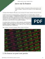 5 fausses croyances sur la bourse - Investisseur en herbe