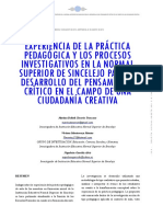 Dialnet-ExperienciaDeLaPracticaPedagogicaYLosProcesosInves-6066082