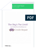 The-Skys-The-Limit-Credit-Repair-Guide