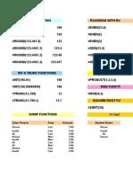 Excel Functions II