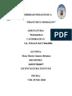 LA MUERTE DEL PROFESOR DE MATEMATICAS