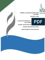 ACTIVIDAD DE APRENDIZAJE…1 COMPONENTES DE LA INFRAESTRUCTURA DE TI