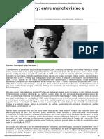 O jovem Trotsky