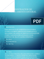 ADMINISTRACION DE MEDICAMENTO ENTERAL