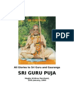 Sri Guru Puja 2000