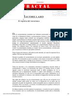 Jean Baudrillard-El Espíritu Del Terrorismo