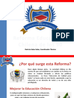 La Reforma Educacional Chilena - por Patricio Salas