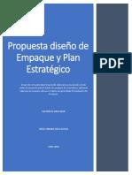 Informe Propuesta diseño de Empaque y Plan Estratégico