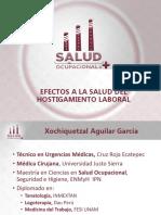 Dra. Xochiquetzal Aguilar (México) Efectos a la salud por el hostigamiento laboral