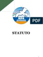 Statuto Movimento per le Autonomie