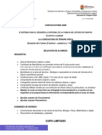 Convocatoria ETF 2020