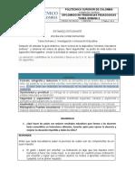 DIPLOMADO EN TENDENCIAS PEDAGOGICAS POLITECNICO SUPERIOR DE COLOMBIA