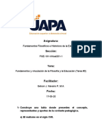 tarea 2 F. Filosofico e H. de la Educacion