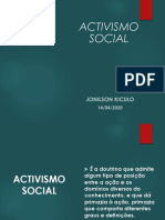 M & S Apresentação Activismo