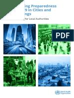 WHO 2019 NCoV Urban Preparedness 2020.1 Eng