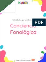 KIDITOS - CONCIENCIA FONOLOGICA -material de muestra