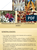 Produccion de cereales