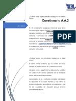 Cuestionario A.A.2