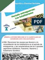 PPT-2 MEDIO A,B,C,D,E-HISTORIA Y CS- PERIODO ENTREGUERRAS. totalitarismo 1