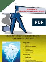 INTRODUCCIÓN AL DESARROLLO DE COMPETENCIAS DIRECTIVAS