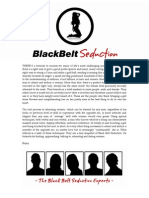 Attract Women With 4 Routines From Black Belt Seduction