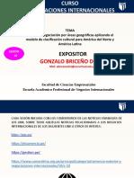 Estilos de negociación por áreas geográficas aplicando el modelo de clasificación cultural para América del Norte y América Latina
