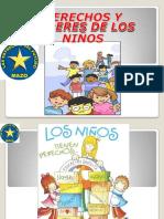 DERECHOS Y DEBERES DEL NIÑO - CIVICA 5TO GRADO