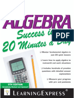 Algebra Success 5th Edition.pdf