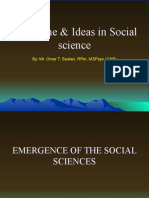 2. Defining Social Science as the Study of Society