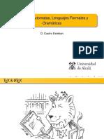 Teoria de Automatas, Lenguajes Formales y Gramaticas