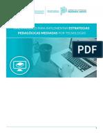 Orientaciones para implementar estrategias Pedagógicas Mediadas por Tecnologías.