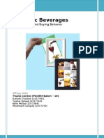 Alcoholic Beverages Segmentation Buying Behavior