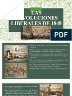 LAS REVOLUCIONES LIBERALES DE 1848