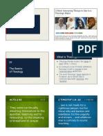 019098 The Basics of Theology Slides