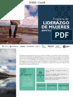 BROCHURE PROGRAMA DE LIDERAZGO FINAL