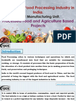 How to Start Food Processing Industry in India. Food Manufacturing Unit. Processed Food and Agriculture Based Projects -586076-.pdf