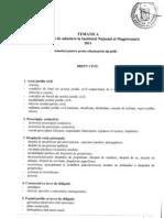 Programa INM