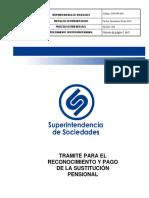 GTH-PR-003 Sustituciones Pensionales