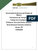 Fenómenos de transporte y Transformación de plástico (Investigación)