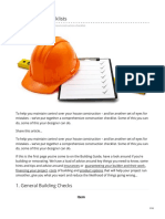 buildingguide.co.nz-Construction checklists