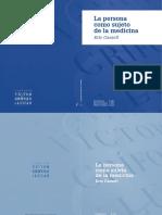 La Persona como Sujeto de la Medicina.pdf