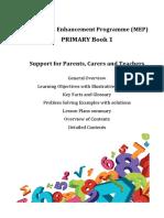 MEP Book 1 Support