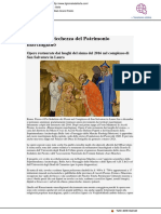 Fragilità e ricchezza del patrimonio marchigiano - Il Giornale dell'arte.com, 12 giugno 2020