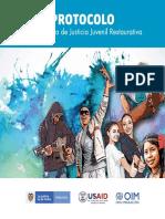 Folleto protocolo Programa Justicia Juvenil Restaurativa lectura ACTUALIZADO 2020