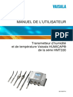 HMT330 User's Guide in French M210566FR