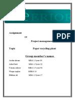PRP final file according to the Irslan akram