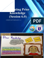 Session 4_Activating Prior Knowledge