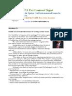 Pa Environment Digest Jan. 10, 2011