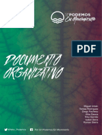 Documento Organizativo de Podemos en Movimiento